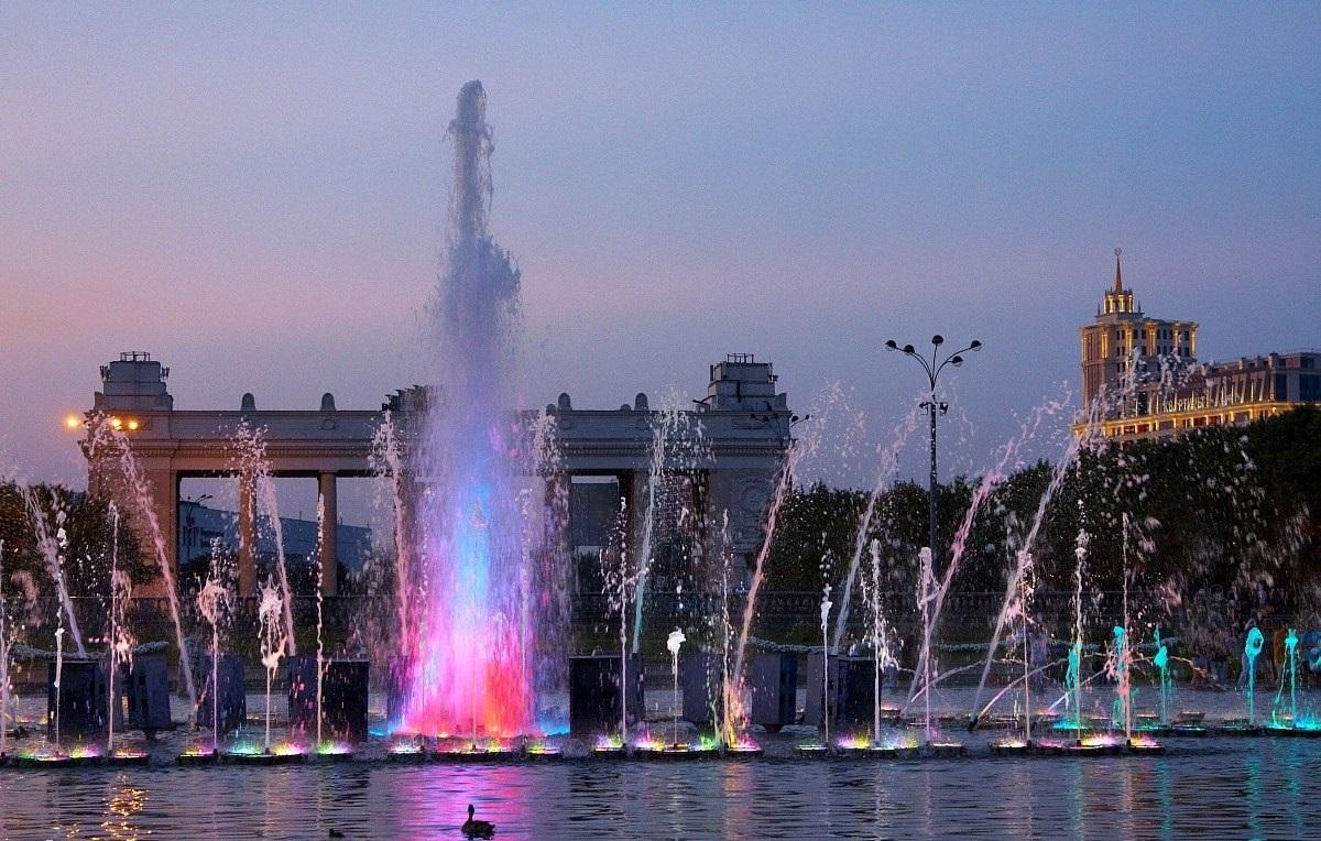 знакомства в парке Москвы