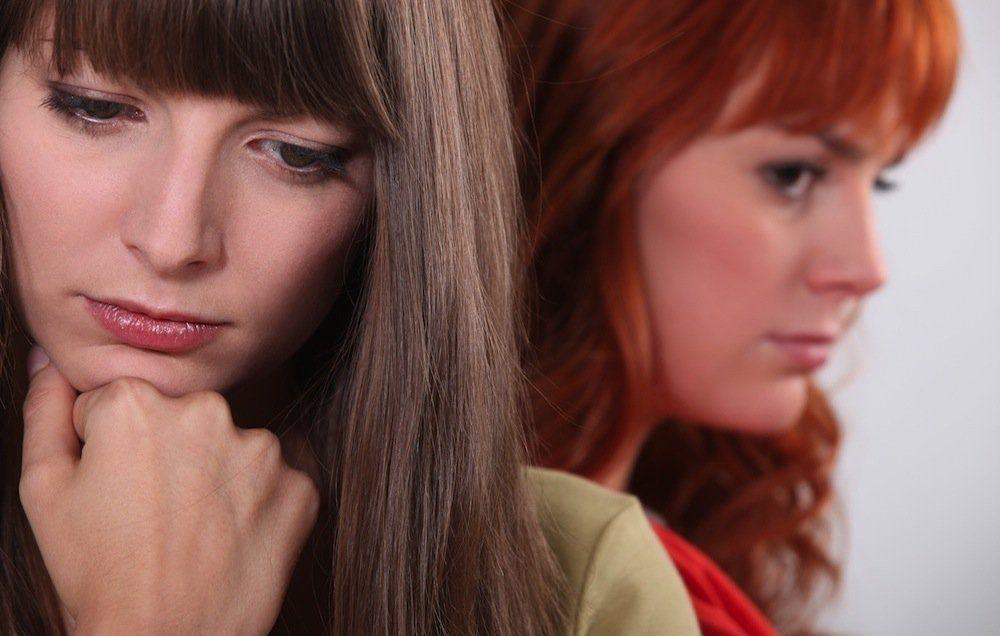 девушка ревнует к бывшей